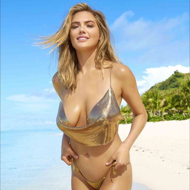 Kate Upton on Beach