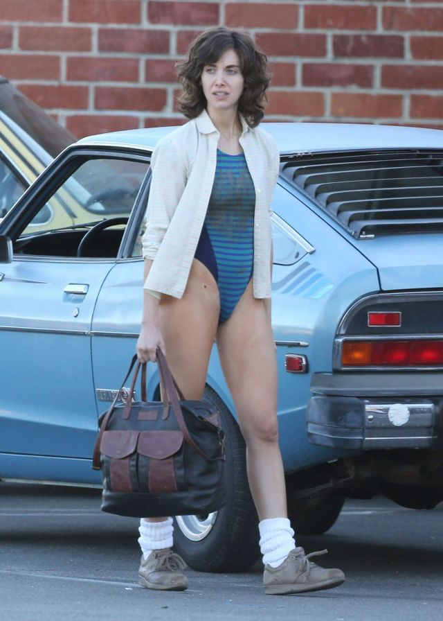 Alison Brie Out