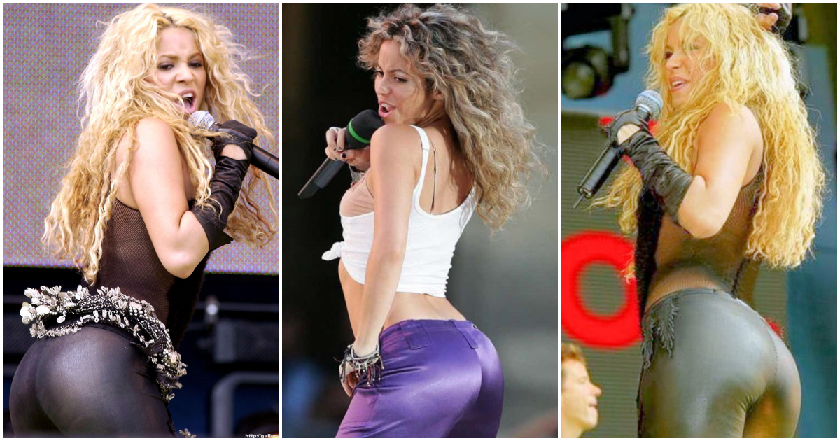 61 Hottest Pictures of Shakira's Curvy Butt Is Like Heaven On Earth | Best Of Comic Books