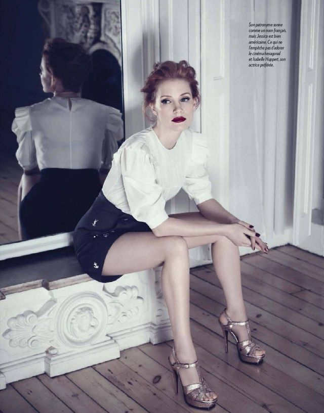 Jessica Chastain Sexy Legs