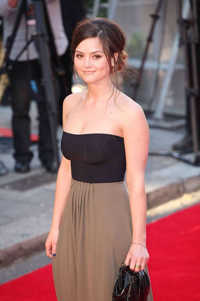 jenna coleman red carpet