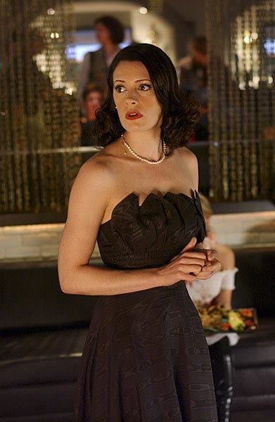 paget brewster hot dress