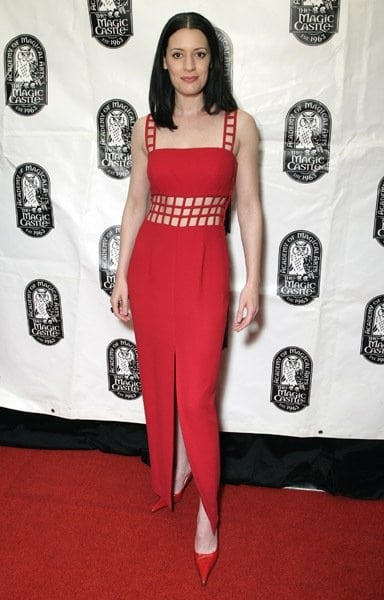 paget brewster red carpet