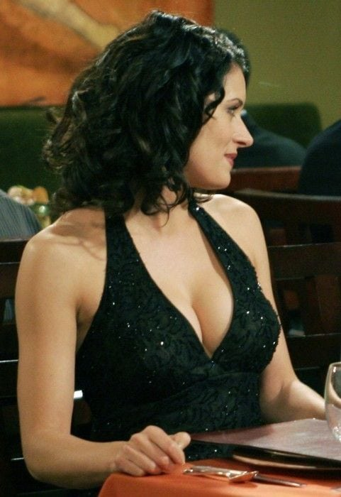 paget brewster sexy dress