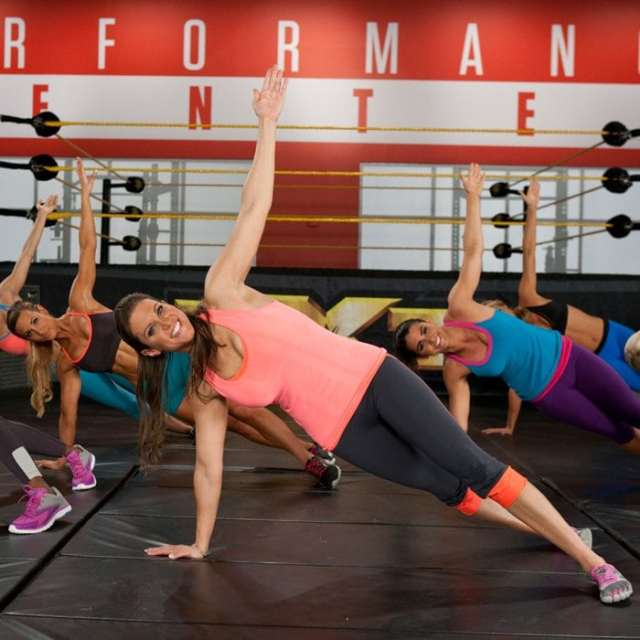 Stephanie Mcmahon MOrning Workout