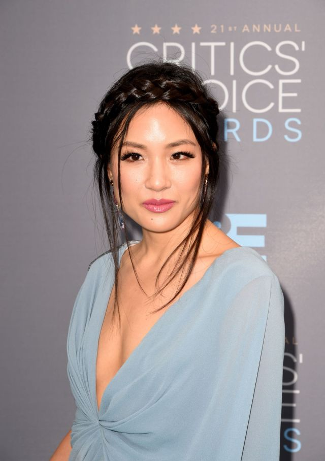 constance wu hot cleavage
