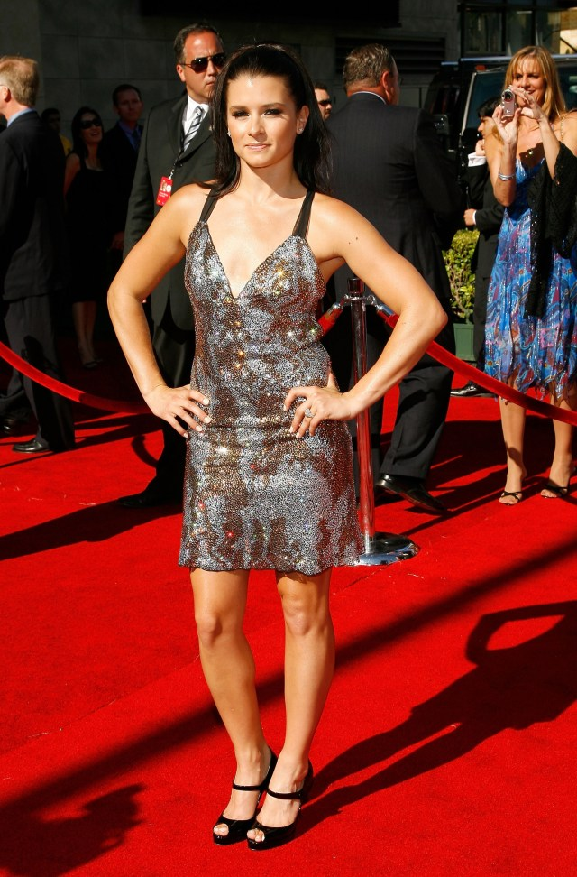 danica patrick red carpet