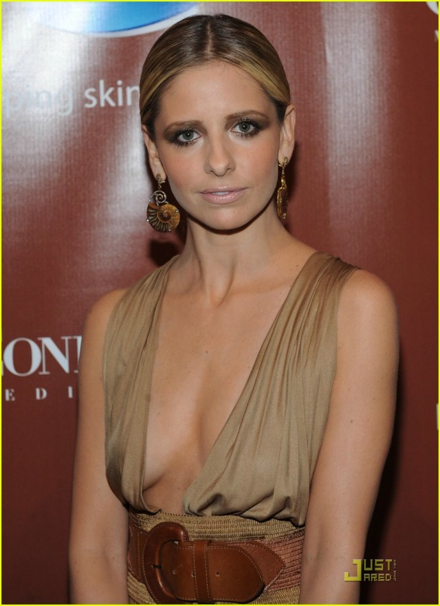 sarah michelle gellar cleavage