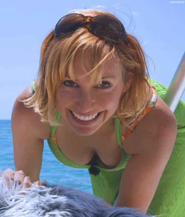 Kari Byron on Swimming