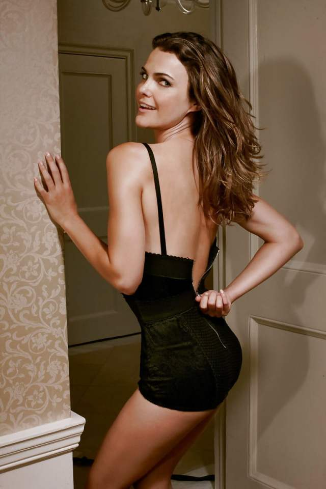 Keri Russell Sexy Back
