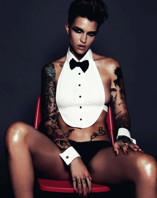 Ruby Rose Sexy Photoshoot