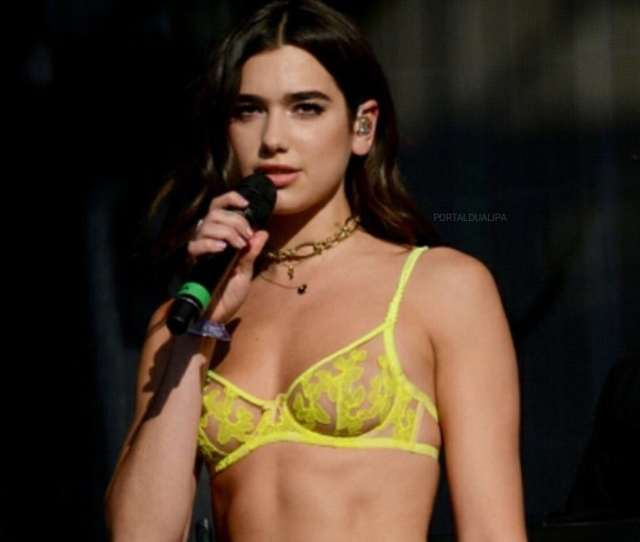 Hot Pictures Of Dua Lipa Will Make You Crave For Her Curvy Body