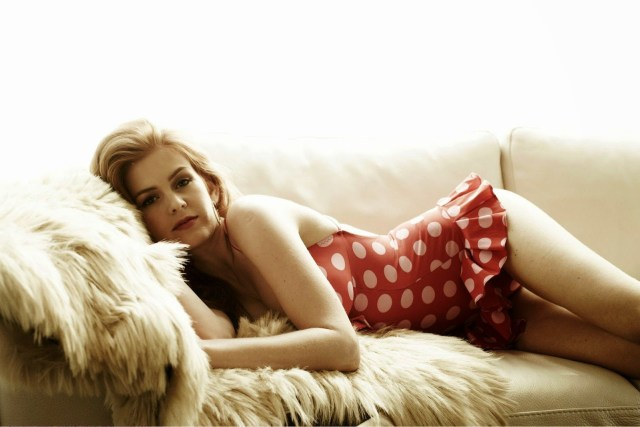 Isla Fisher on Bed