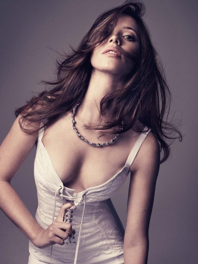 Rebecca Hall Showing Boobs