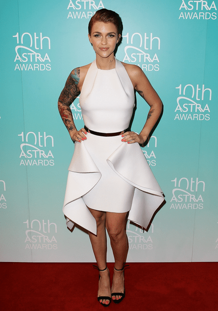 Ruby Rose on Awards