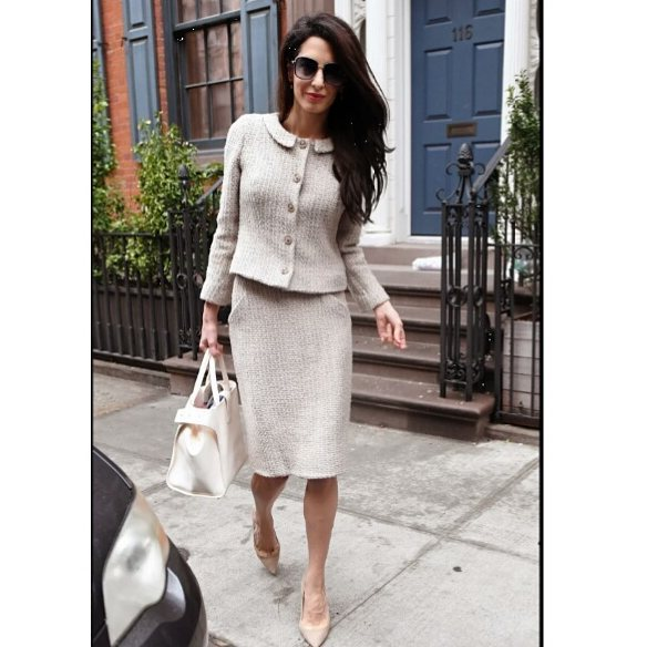Amal Clooney on the Road