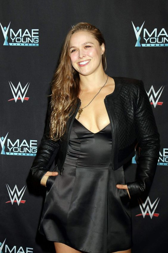Ronda Rousey Sexy in Black