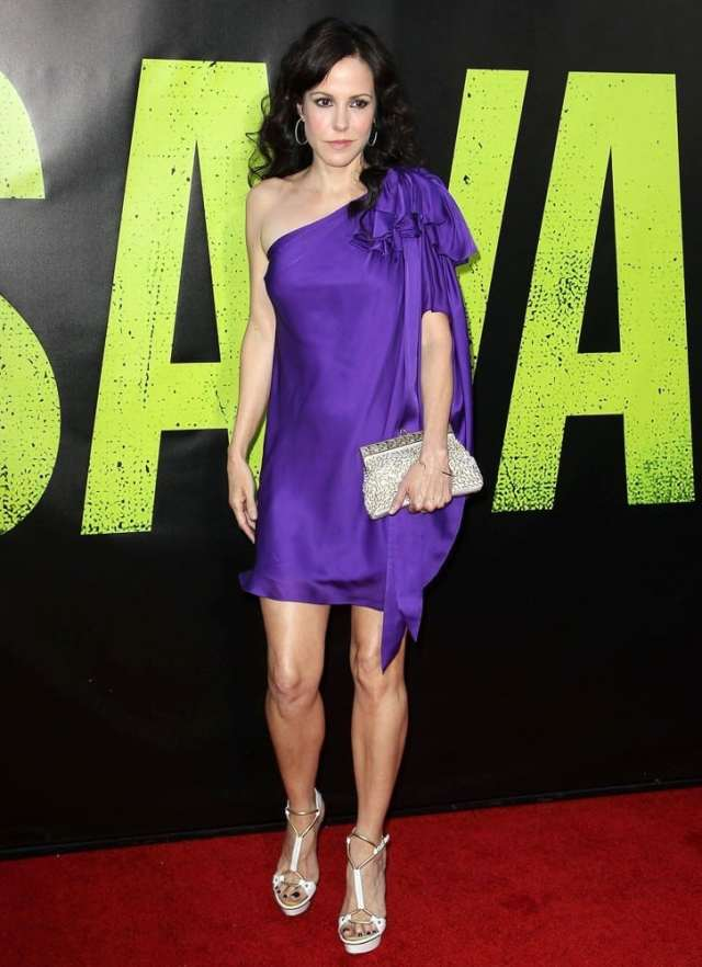 Mary-Louise Parker on Red Carpet