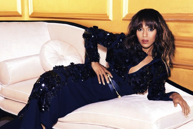 Kerry Washington on Bed
