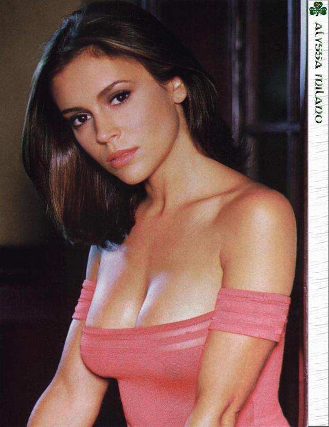 Alyssa Milano Photoshoot