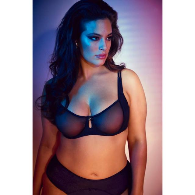 Ashley Graham Hot in Bikini