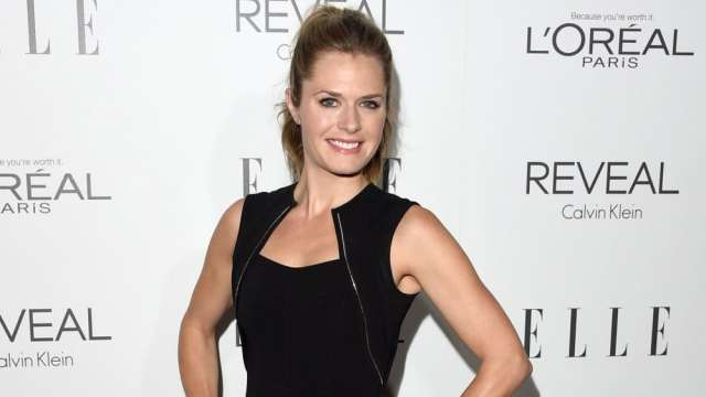 Maggie Lawson Hot in Black