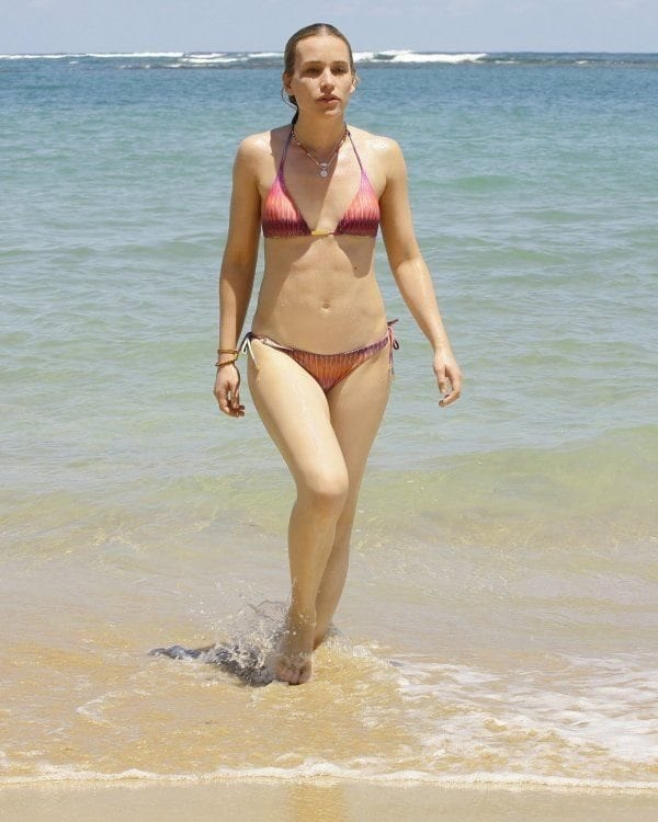 Piper Perabo on Beach