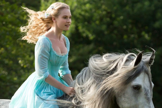 lily james horse riding