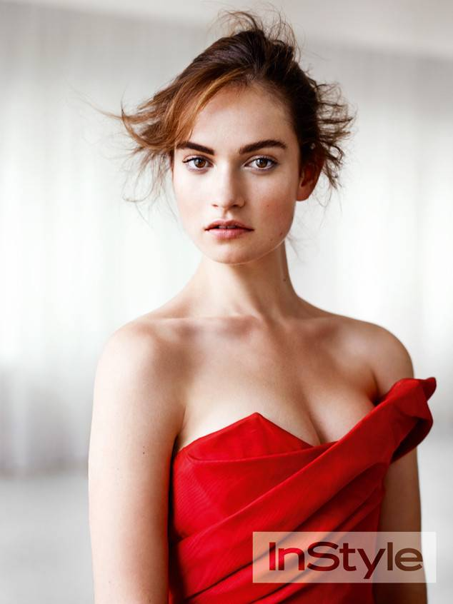 lily james hot skin
