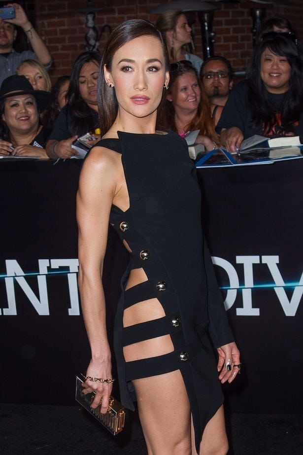 maggie q hottie dress