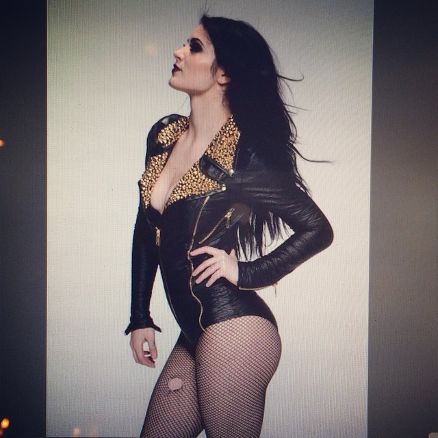 paige looking sexy
