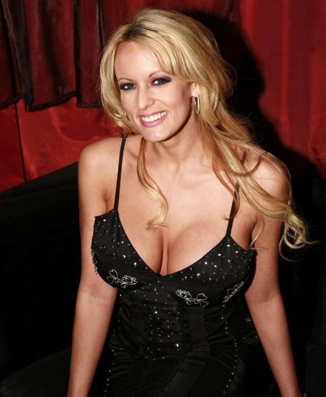stormy daniels sexy cleavage