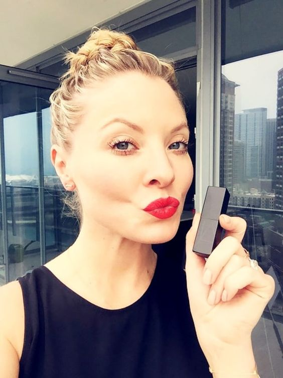 Kaitlin Doubleday Red Lips