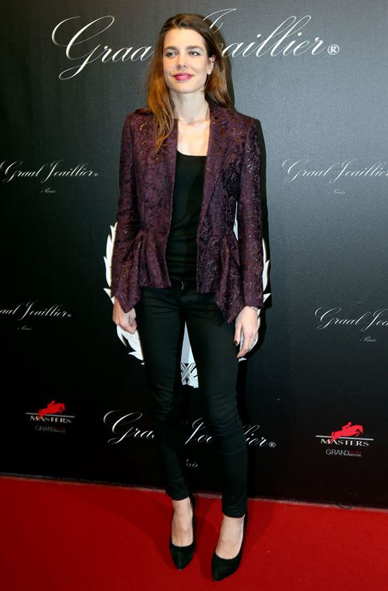 Charlotte Casiraghi on Red Carpet