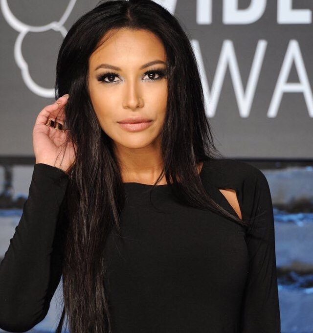 Naya Rivera Hot in Black