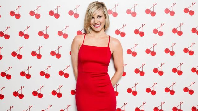 Renee Young Hot in Red Dress