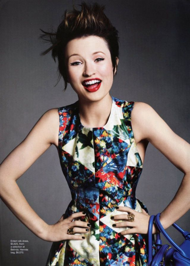 emily browning laugh