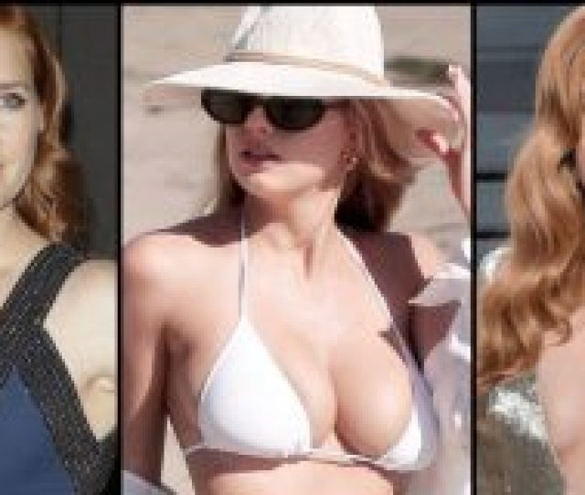 Hottest Amy Adams Bikini Pictures Expose Her Sexy Hour Glass Figure