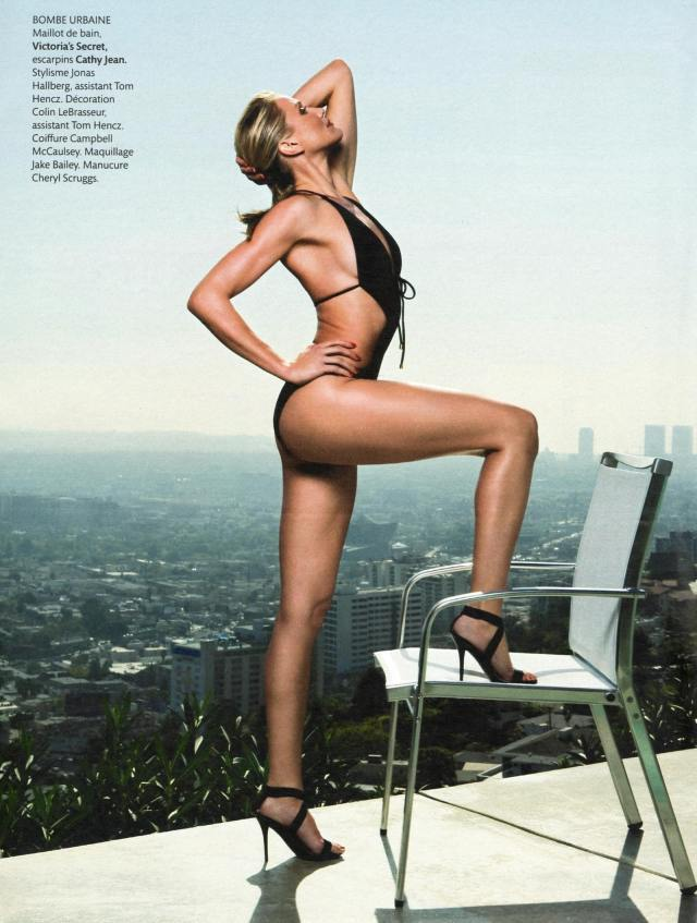 Cameron Diaz in Sexy Swimsuit in French Magazine Madame Figaro-01-min