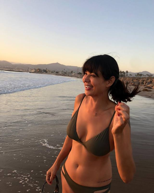 Catherine Bell on Beach