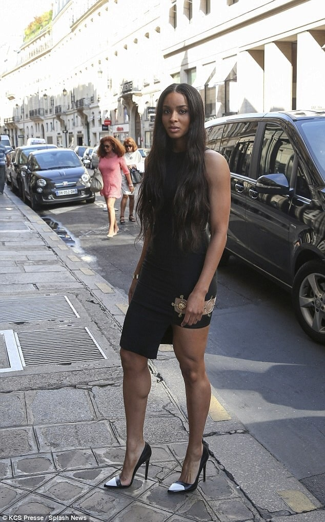 Ciara Sexy Feet in high heels