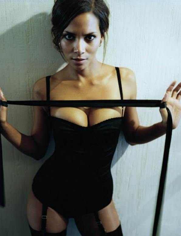 Halle Berry cleavages beautiful