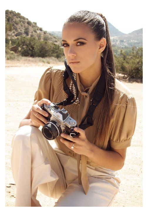 Jana Kramer taking Photos