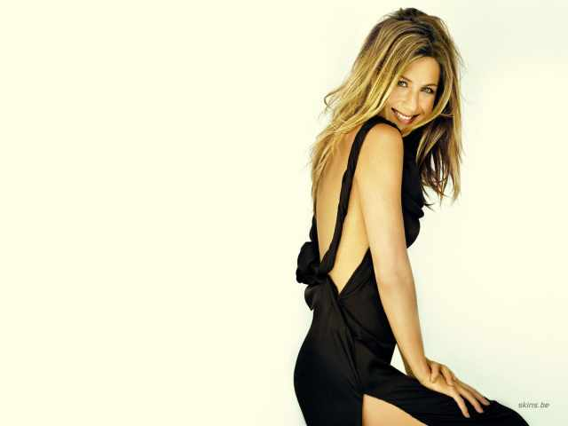 Jennifer Aniston Hot in Black