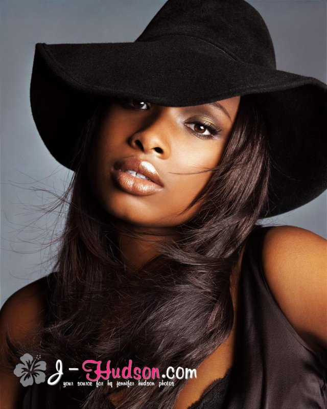 Jennifer Hudson wearing Hat