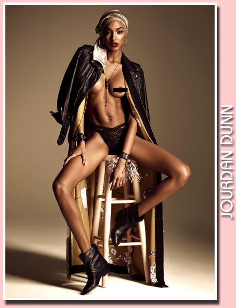 Jourdan Dunn hot thighs and cleavage