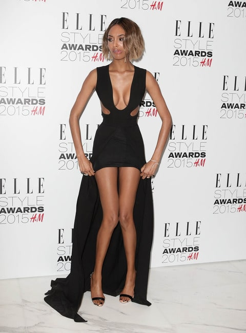 Jourdan Dunn very hot thighs and cleavage