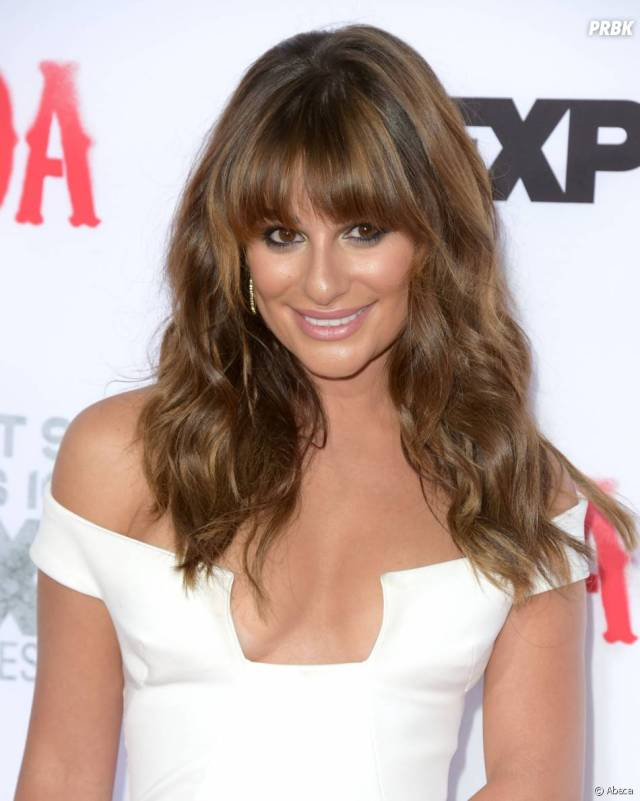 Lea Michele Sexy Hairstyle