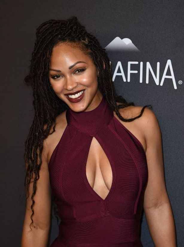 Meagan Good awesome cleavages