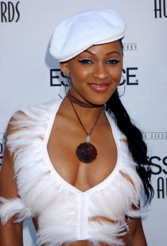 Meagan Good cleavages hot pic